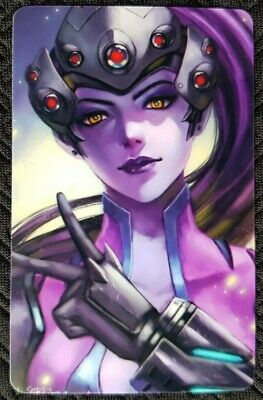 AU4 • Buy WIDOWMAKER Overwatch Sticker Card ID Bank Game Party Loot Kids Decal PC Skate