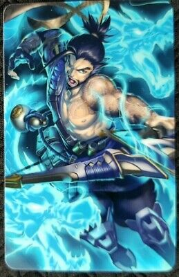 AU4 • Buy HANZO Overwatch Sticker A Card ID Bank Game Party Loot Kids Decal PC Skate