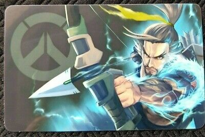AU4 • Buy HANZO Overwatch Sticker B Card ID Bank Game Party Loot Kids Decal PC Skate