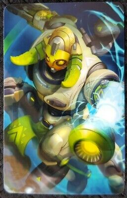 AU4 • Buy ORISA Overwatch Sticker Card ID Bank Game Party Loot Kids Decal PC Skate