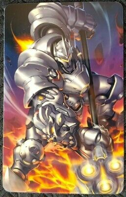 AU4 • Buy REINHARDT Overwatch Sticker Card ID Bank Game Party Loot Kids Decal PC Skate