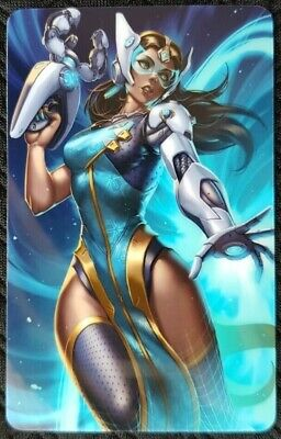 AU4 • Buy SYMMETRA Overwatch A Sticker Card ID Bank Game Party Loot Kids Decal PC Skate