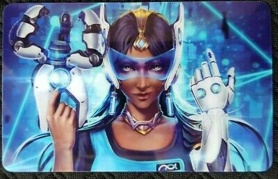AU4 • Buy SYMMETRA Overwatch B Sticker Card ID Bank Game Party Loot Kids Decal PC Skate