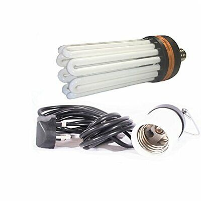 £43.13 • Buy Hydroponics 300w CFL Dual Spectrum Growing And Flowering Bulb With Bulb Holder