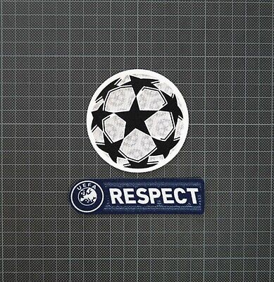 £8 • Buy UEFA Champions League Starball & Blue RESPECT Sleeve Patches/Badges 2011-2012