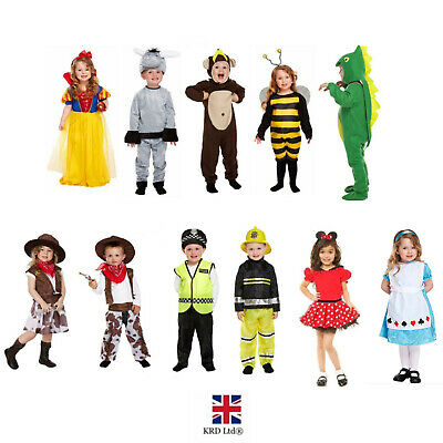 TODDLER FANCY DRESS COSTUME Up Kids Children Outfit Age 2-4 Party Boys Girls UK • 10.35£