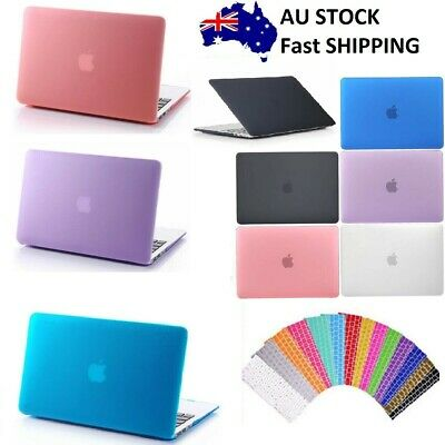 AU21.69 • Buy Macbook Rubberized Hard Case Shell+Keyboard Cover For Pro 13/15  Air 11/12  Inch