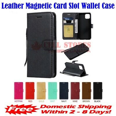 $ CDN4.99 • Buy Leather Magnetic Credit Card Slot Wallet Flip Case Cover For Sony Xperia XA2