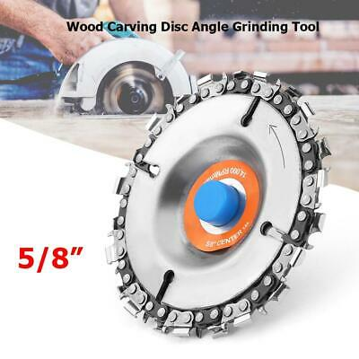 4 Inch Chain Grinder Chain Saws Disc Wood Carving Disc Angle Grinding Tool • 6.64£