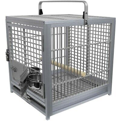 King's Cages Aluminium Parrot Travel Cage - Medium - Available In 4 Colours • 374£
