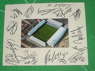 Portsmouth FC Mount Multi-Signed X 16 2018/19 First Team Squad  • 24.95£