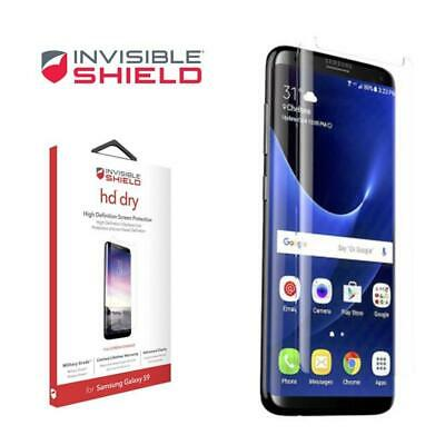 AU28.49 • Buy Zagg InvisibleShield HD Dry Film Screen Protector For Samsung Galaxy S9/S9+