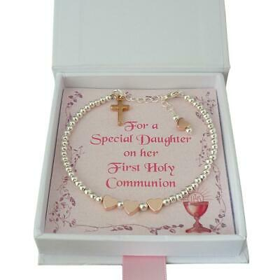 Bracelet For Girls First Holy Communion Day In Gift Box For Daughter, Sister Etc • 11.99£