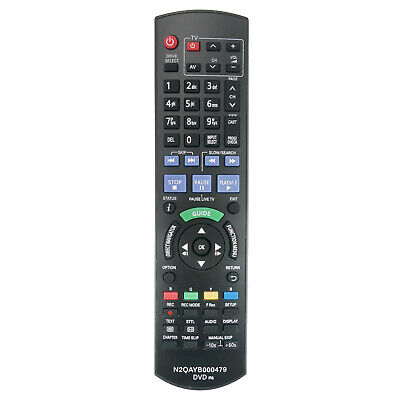 AU18.49 • Buy N2QAYB000479 DVD HDD Digital Video Recorder Remote F Panasonic Sub N2QAYB000644