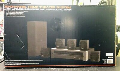 Blackweb 1000-Watt 5.1 Channel Receiver Home Theater System With BT (SPG032293) • 149.90$