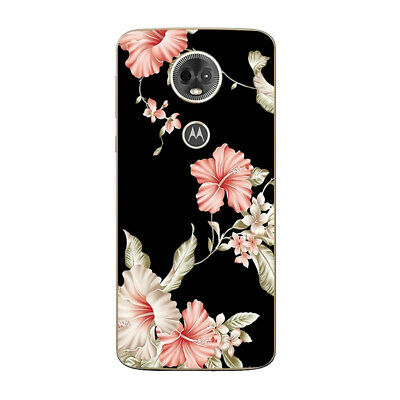 AU4.45 • Buy Soft TPU Case Cover For Motorola Moto E4 E5 G4 G5 Plus Ultra Thin Flower Skins