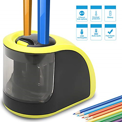 £16.31 • Buy Pencil Sharpener - Electric Pencil Sharpener With USB Or Battery Operated - 2