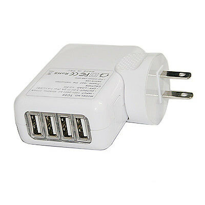 AU10.40 • Buy 4 Port USB Wall Charger Power Adapter For IPhone X 8 Plus Samsung LG Smart Phone