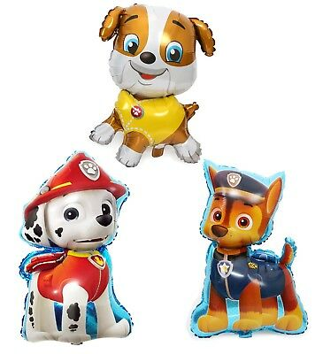 £2.29 • Buy 31``Paw Patrol CHASE MARSHALL RUBBLE Kids Party Helium Foil Birthday Balloon