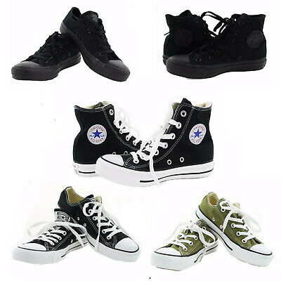 $39.99 • Buy Converse Chucks All Star Chuck Taylor Canvas Casual Fashion Low / High Top Shoes
