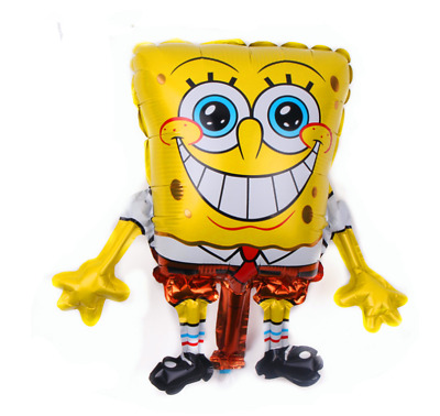 AU4.99 • Buy 1pcs Cartoon Foil Balloon  Children's Toys SpongeBob  Birthday Party Decoration