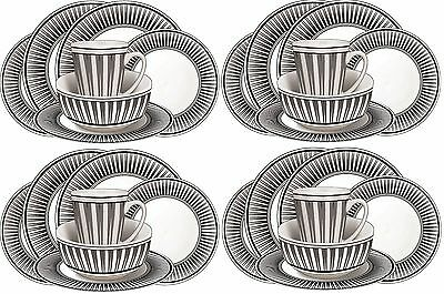 £33.95 • Buy 16pcs Melamine Outdoor Dinner Set Plates Bowls Cups BBQ Camping Fishing Picnic