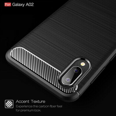 $ CDN4.94 • Buy For Samsung Galaxy S10 Plus S10e S9 S8 S7 Carbon Fibre Soft Silicone Cover Case