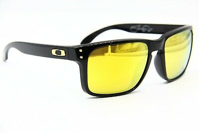 224aed98030 New Oakley Holbrook Oo9102-08 Black Authentic Sunglasses Oo 9102 Frame  55-18 •