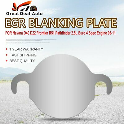 AU12 • Buy EGR Blanking Plate FOR Navara D40 D22 Frontier R51 Pathfinder 2.5 Euro4 06-11