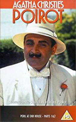 Agatha Christie Poirot Peril At End House 2 Part Mystery DVD UK Movie Film NEW • 24.99£