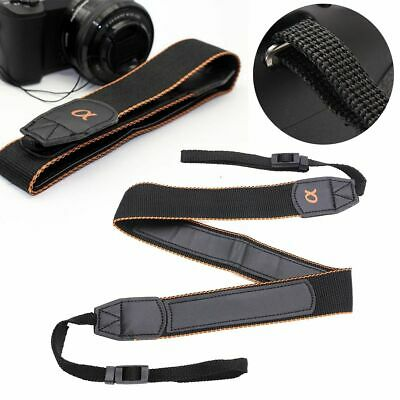$ CDN7.21 • Buy Sturdy Camera Neck Strap Shoulder Belt For Sony A6500 A6300 NEX-7 RX100 V A7R II