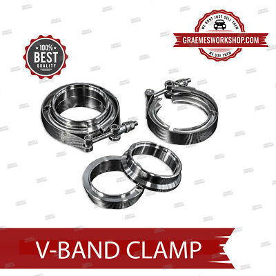 $ CDN38.53 • Buy  V Band Clamp 2.5   With Rings Stainless Steel Best Quality Exhaust Or Turbo