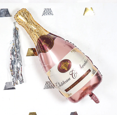 AU6.99 • Buy  1 PCS Rose Gold Champagne Bottle Wine Party Decorations Birthday Party Wedding