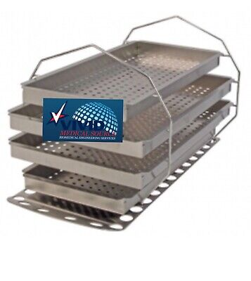 $296.83 • Buy Midmark Ritter M9 Autoclave Tray Rack Kit MIK204 NEW