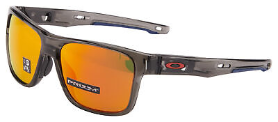b31538180ddbd Oakley Crossrange Sunglasses OO9361-1257 Grey Smoke Prizm Ruby • 74.99