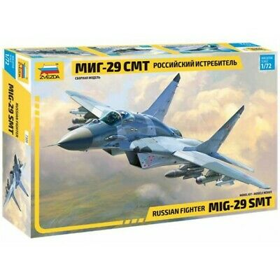 Zvezda 1/72 Scale Russian Fighter Mikoyan MiG-29SMT • 22.99£
