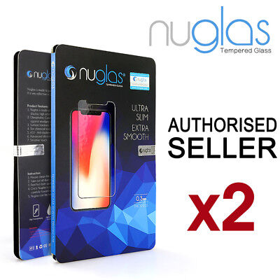 AU7.95 • Buy 2x For Apple IPhone 11 Pro XS Max XR 8 7 Plus Tempered Glass Screen Protector