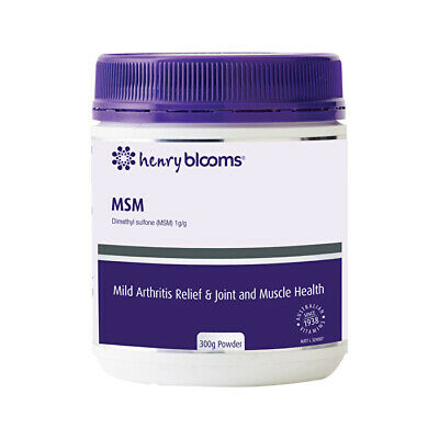 AU27.57 • Buy Henry Blooms MSM Powder 300g Joints