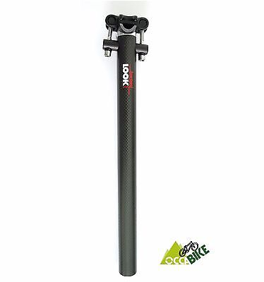 $21.50 • Buy Tige De Selle LOOK CARBOPOST 27 NEUVE LOOK Carbon Seat Post 27.2 NEW OLD STOCK