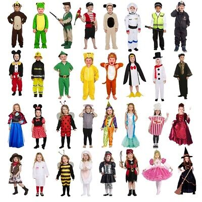 Toddler Fancy Dress Up Costume Child Boy Girl Outfit World Book Day Kids 2-3 Yr • 10.99£