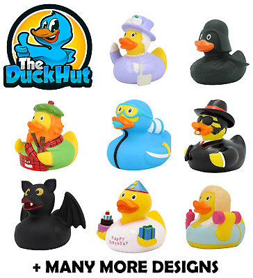 RUBBER DUCKS - BATH TOY - GIFT - The Duck Hut - Lilalu - OVER 200 TO COLLECT • 6.99£