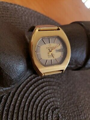 Vintage Eterna Sonic Tunic Fork Sevenday Electronic Mens Watch Rare Working • 322£