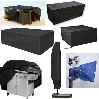Outdoor Garden Patio Waterproof Furniture Set Cover Parasol BBQ Grill Lounger UK • 5.38£