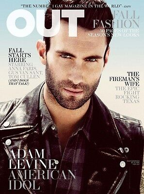 AU16.58 • Buy OUT Magazine Adam Levine Maroon 5 Gus Van Sant The Voice Anna Faris Tom Cullen
