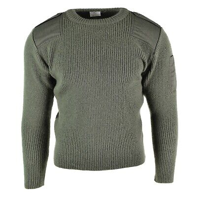 $25.78 • Buy Genuine French Army Pullover Navy OD Olive Commando Jumper Military Sweater