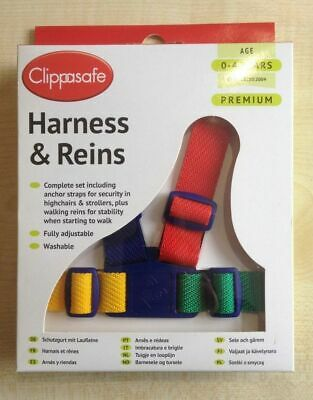 ,Clippasafe Child /Toddler Safety Walking Harness/reins Washable UK SELLER  • 8.50£