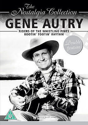 Riders Of The Whistling Pines & Rootin' Tootin' Rhythm Gene Autry Uk R0 Dvd New • 5.95£