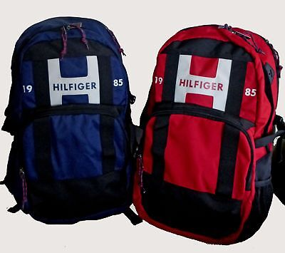 Tommy Hilfiger Raider Red Or Blue Unisex Laptop Backpack Travel School •  45.00  704ead66d0363
