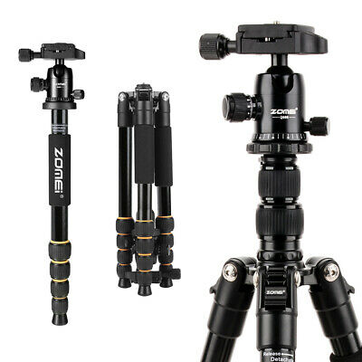 AU69.98 • Buy Zomei Q666 Portable Aluminum Tripod Lightweight Ball Head For Sony DSLR Cameras