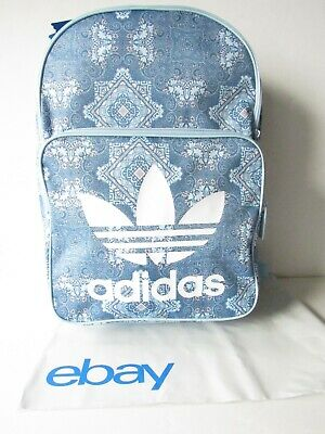 cb91143428 Adidas Original Trefoil Classic Backpack School Daypack Book Bag NEW •  39.99
